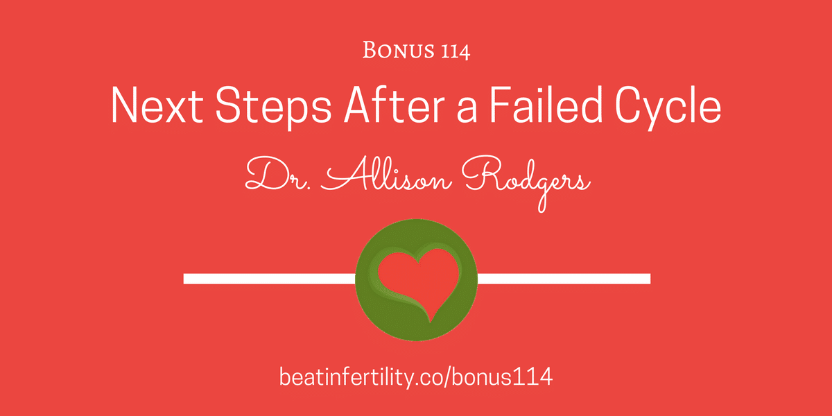 BONUS 114: Next Steps After a Failed Cycle