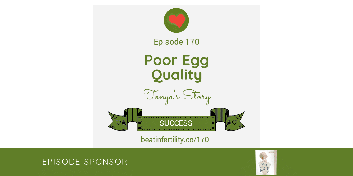 170: Poor Egg Quality [SUCCESS]