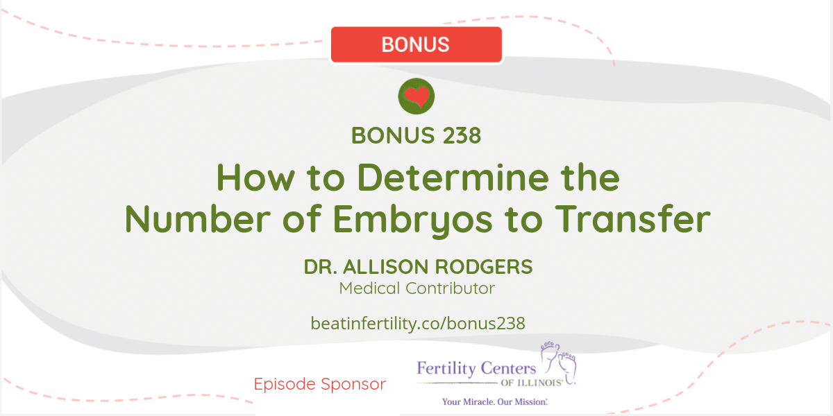 BONUS 238: How to Determine the Number of Embryos to Transfer