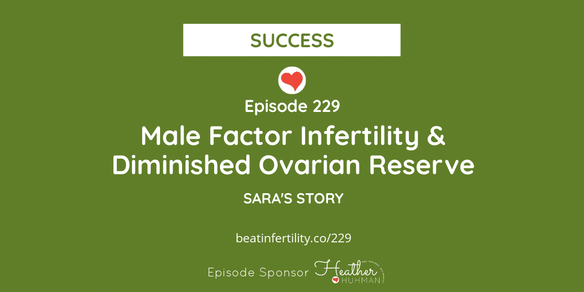 229: Male Factor Infertility & Diminished Ovarian Reserve [SUCCESS]