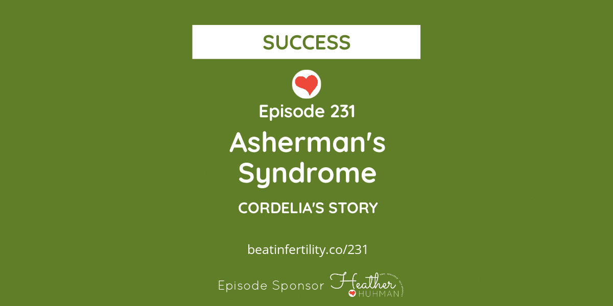 231: Asherman's Syndrome [SUCCESS]
