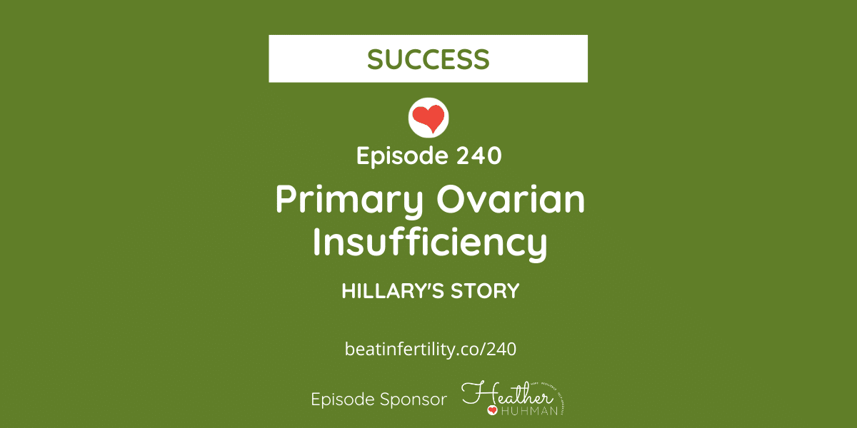 240: Primary Ovarian Insufficiency [SUCCESS]