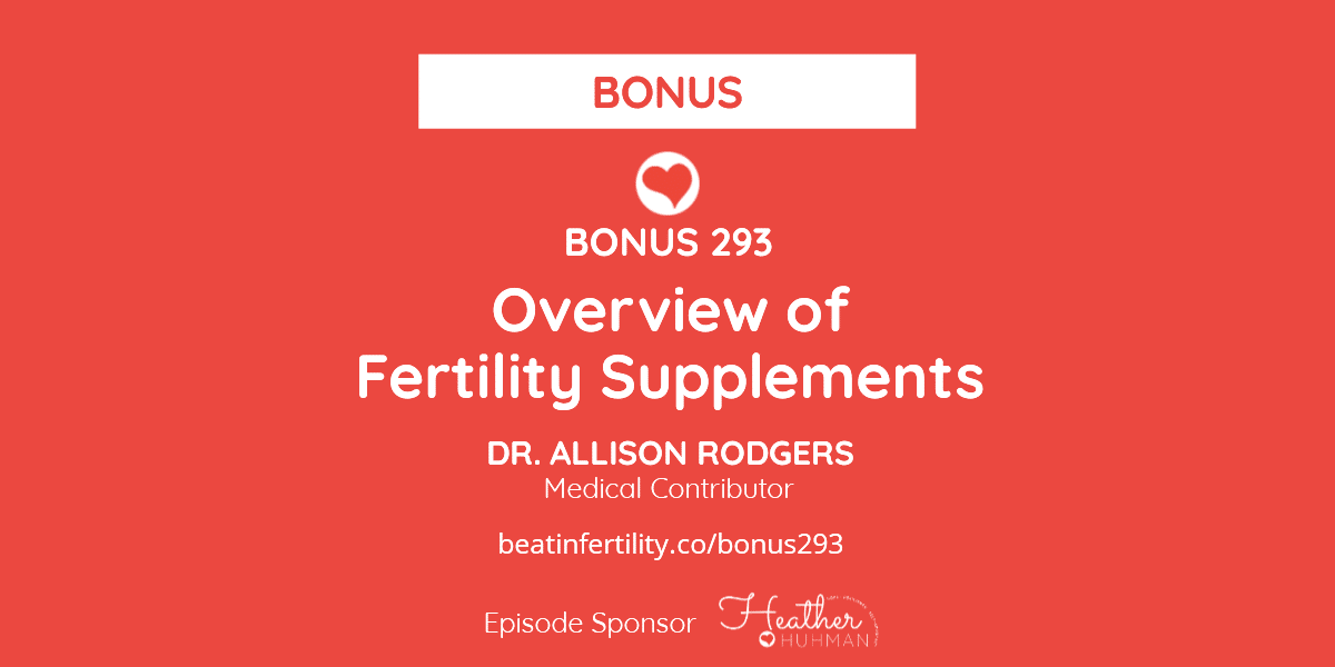 Overview of Fertility Supplements